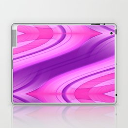 Pink and Purple Asymmetry 1 Laptop & iPad Skin