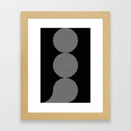 It could be a Semicolon...BUT...there is an additional dot. So it's more like a scorpion tail. Framed Art Print