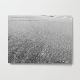 Water Current Metal Print