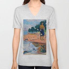 Paul Gauguin - Haere Pape Unisex V-Neck
