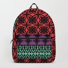 Art Deco Colorful Mosaic 1 Backpack