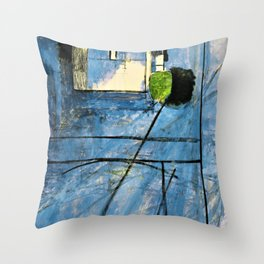 Henri Matisse - View of Notre Dame - Digital Remastered Edition Throw Pillow