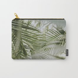 Aloha Palm Leaves // Haiku, Maui Carry-All Pouch