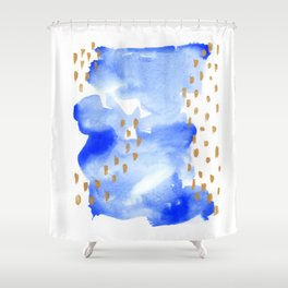 02 go with the flow Shower Curtain