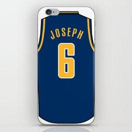 Cory Joseph Jersey iPhone Skin