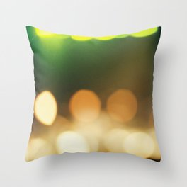 Bokeh Throw Pillow