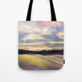 Summer Sunset Over Lake Winnipesaukee in New Hampshire Tote Bag