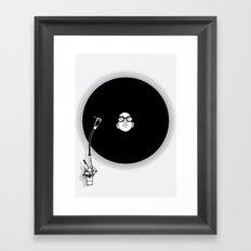 music now Framed Art Print