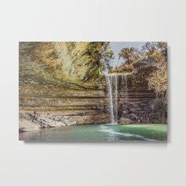 Hamilton Pool Metal Print