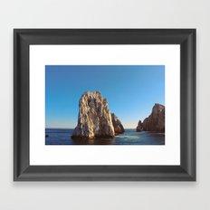 Los Cabos. Winter 2010. Framed Art Print