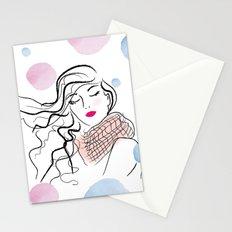 Fresh wind Stationery Cards