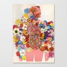 123 Canvas Print