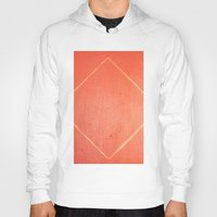 wooden Hoodies featuring Wooden Rhombus by MargherittaVi