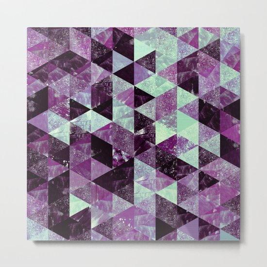 Abstract Geometric Background #22 Metal Print