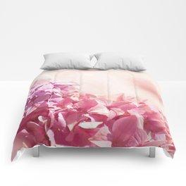 Dreamy pink hydrangea - Flower - Floral Comforters