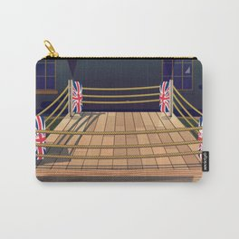 Cartoon Boxing ring gym Carry-All Pouch