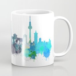 Madrid City Skyline HQ Coffee Mug