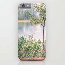 Karin By The Shore - Carl Larsson iPhone Case