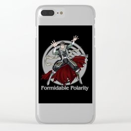 Formidable Polarity Clear iPhone Case