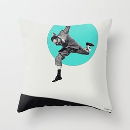 Escape from reality... Throw Pillow
