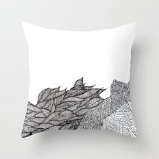gardens Throw Pillow