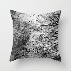Branches & Leaves Throw Pillow
