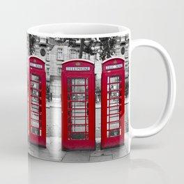 London Phonebox Twins Coffee Mug