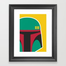 bobafett Framed Art Print