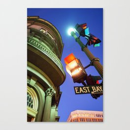 East Bay Lights Canvas Print