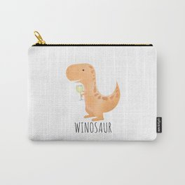 Winosaur | White Wine Carry-All Pouch