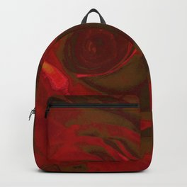 Big Red Rose Backpack