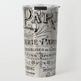Paris Bistro VIII Travel Mug