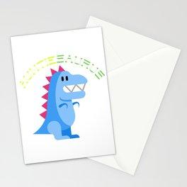 Funny Auntiesaurus Dinosaurs Jurassic Jura Design Stationery Cards
