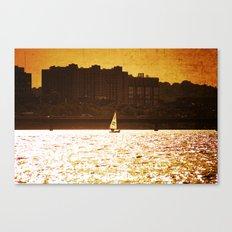 City Backdrop Canvas Print