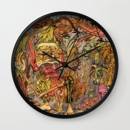 imaginations mind (Tree of  life) Wall Clock