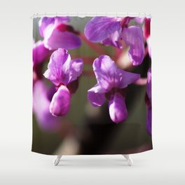 What Does Purple Sound Like Shower Curtain