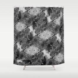 Grey Sentinels Shower Curtain