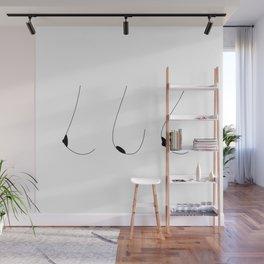Side Boobs Wall Mural
