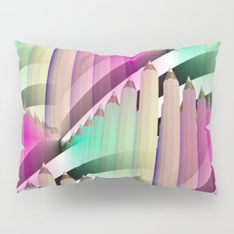 pencil pattern -2- Pillow Sham