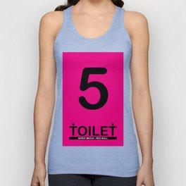 TOILET CLUB #5 Unisex Tank Top