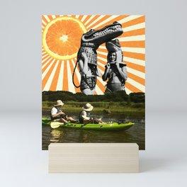 krokodilz Mini Art Print