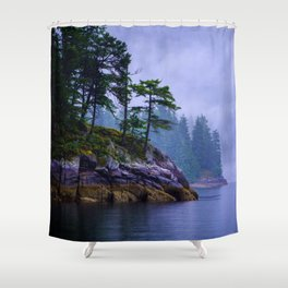 Ice Age Wonder - West Coast Art Shower Curtain