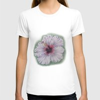hibiscus T-shirts featuring Hibiscus by Allison Langston