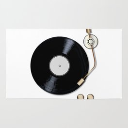 Record Deck Rug