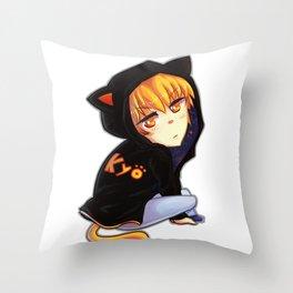 Chibi Kyo Throw Pillow