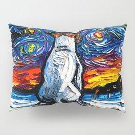 Jack Russell Terrier Night Pillow Sham