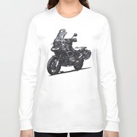 bmw Long Sleeve T-shirts featuring BMW R1200GS by Ernie Young