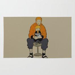 Naruto Boruto love ramen Rug