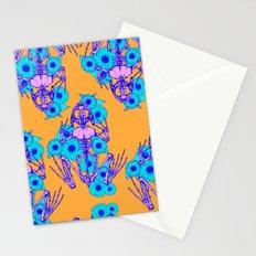 Frog Skeleton Stationery Cards