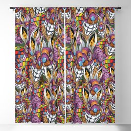 Steampunk Bunny Rabbit Blackout Curtain